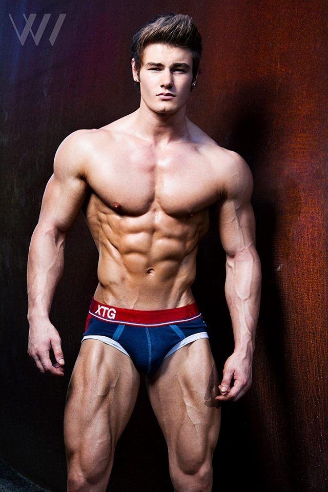 Jeff Seid – trénink fitness modela