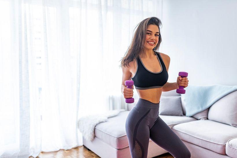Domácí trénink celého těla pro ženy #makamdoma