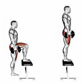 7 nejlepších cviků pro zesílení, vytvarování arozvoj svalů přední strany stehen