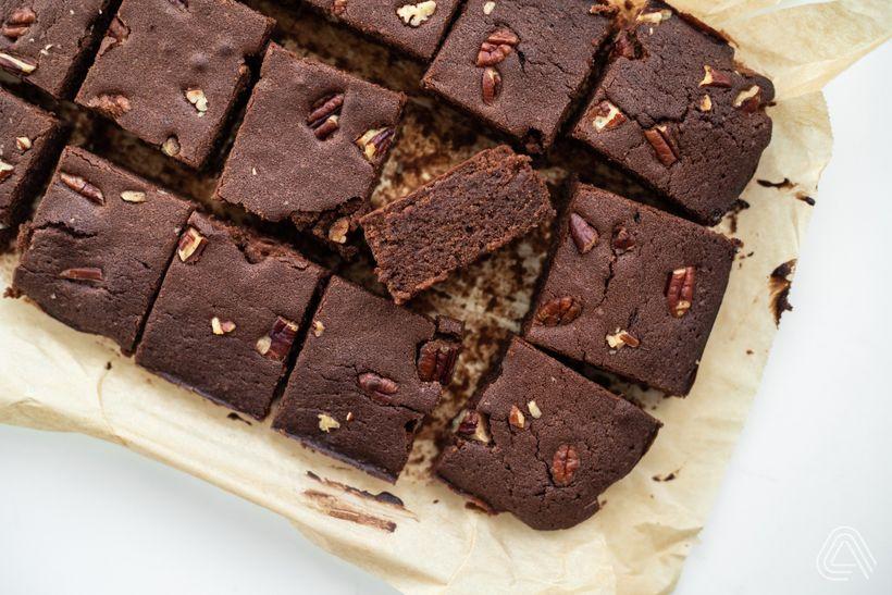 Luxusné čokoládové brownies, na ktorých si pochutnajú aj bezlepkári