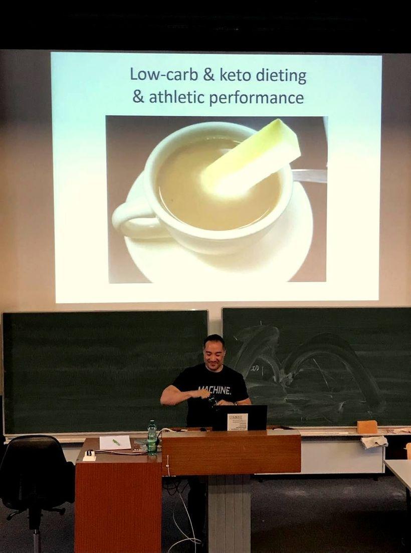 Fitness guru Alan Aragon ve Vídni: Jak získat tělo snů bez hladovění?