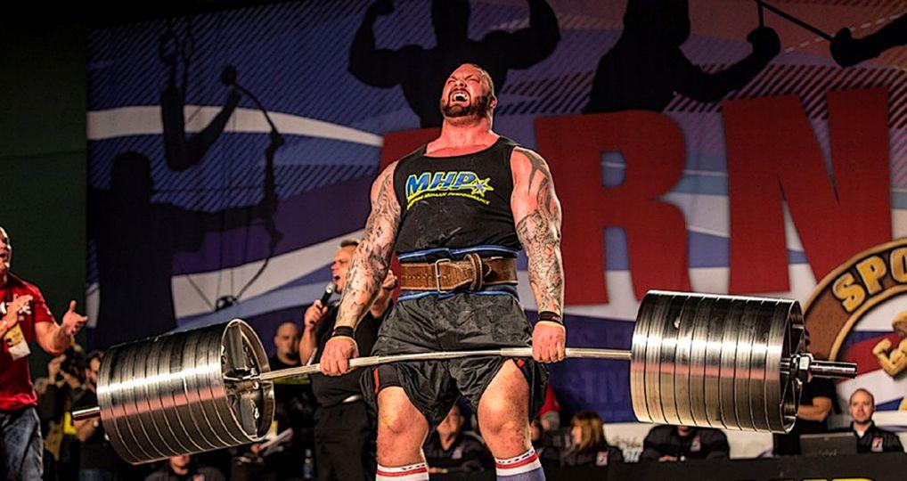 501 kilogramů na čince: Hafthor Björnsson alias Hora předvedl světový rekord v mrtvém tahu