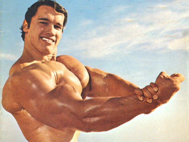Arnold Schwarzenegger - trénink