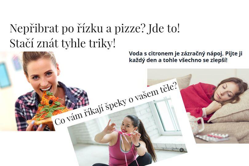 Bořiči fitness mýtů: Jak nepřibrat po pizze? Kam se uloží tuk z řízku? Zázračná voda s citrónem