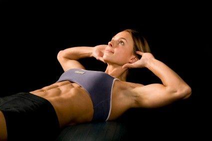 Břišní svaly - cviky
