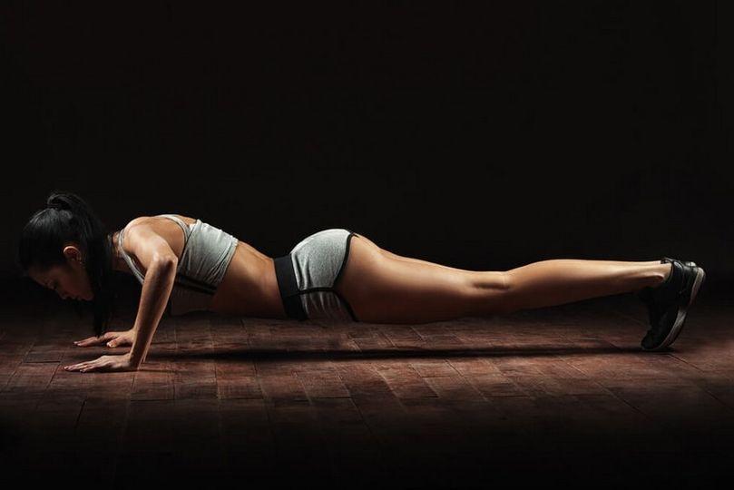 Efektivní cvičení s vlastní vahou
