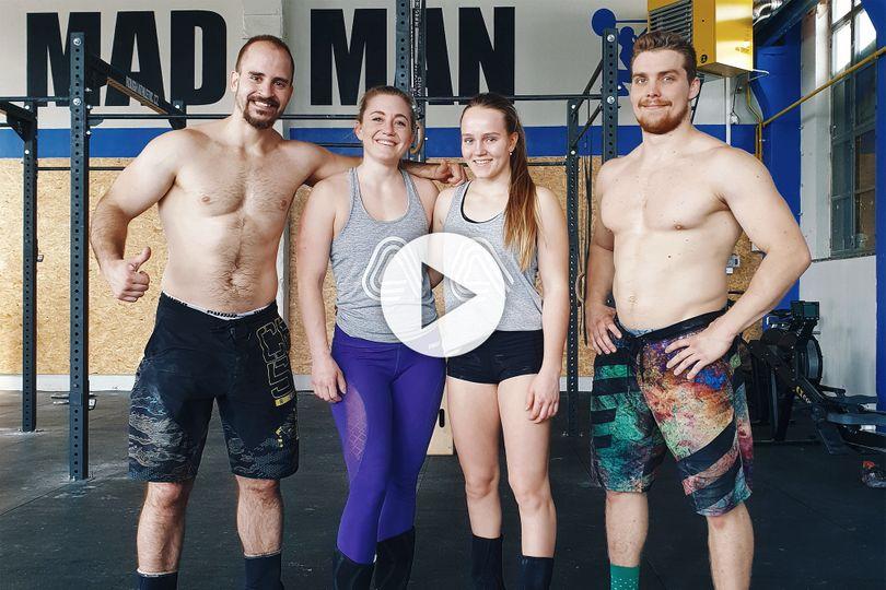 Exkluzivní souboj crossfiterů! Nina Ladvenicová a Lucie Minářová vs. MadMan team