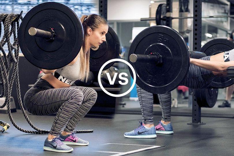 Hip Thrusty vs. Dřepy: Co je lepší na zesílení a vytvarování nohou a zadku?