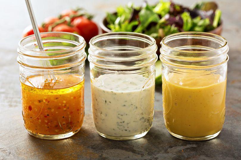 Jak na zdravé zálivky a dresinky na salát a maso?