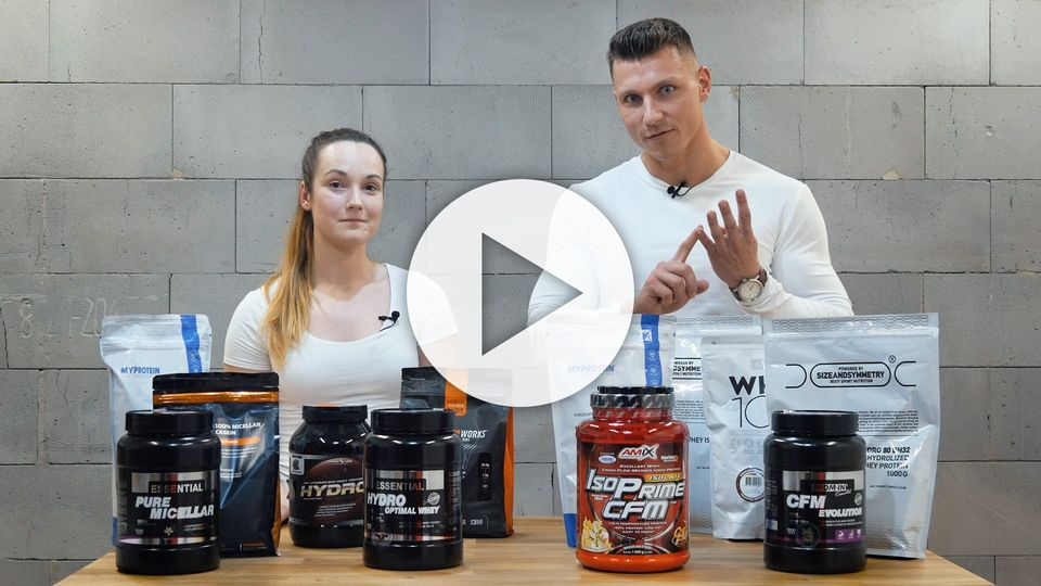 Jak vybrat správný protein?