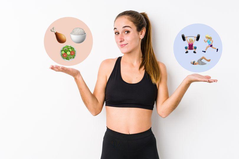 Je důležitější pohyb, nebo strava, když chci hubnout?