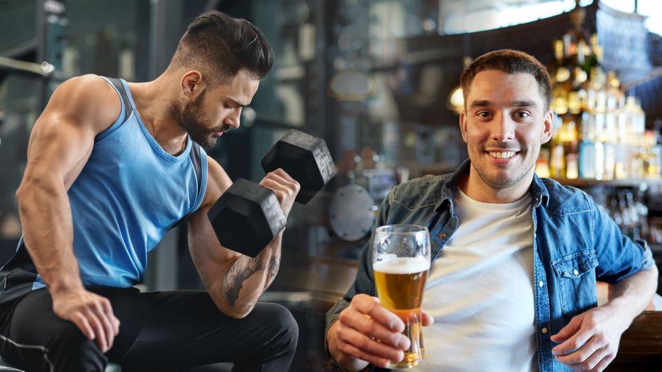 Když si dám po tréninku pivo, je to jako kdybych necvičil?