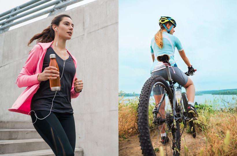 Kolo vs. běh – co je lepší na hubnutí?