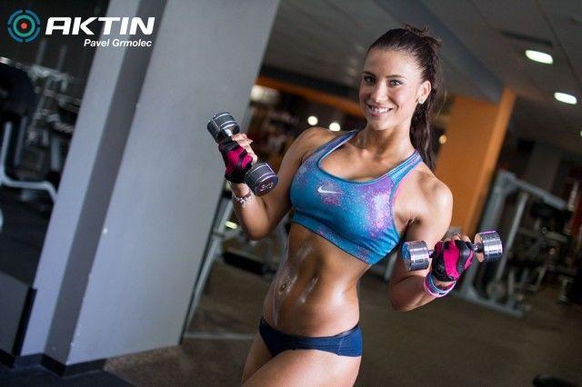 Markéta Kovačová - trénink (video)