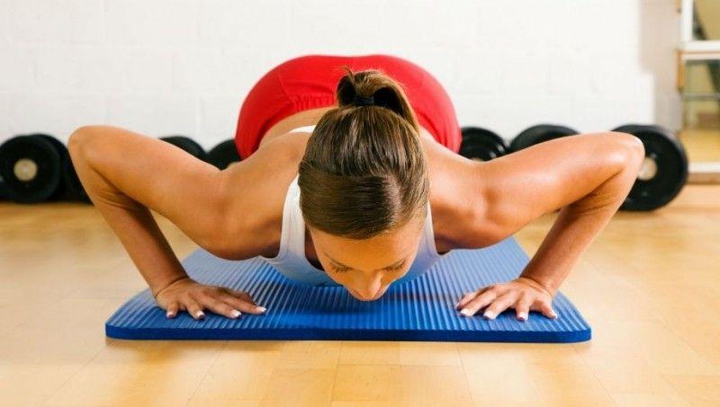 Posilování prsních svalů pro ženy