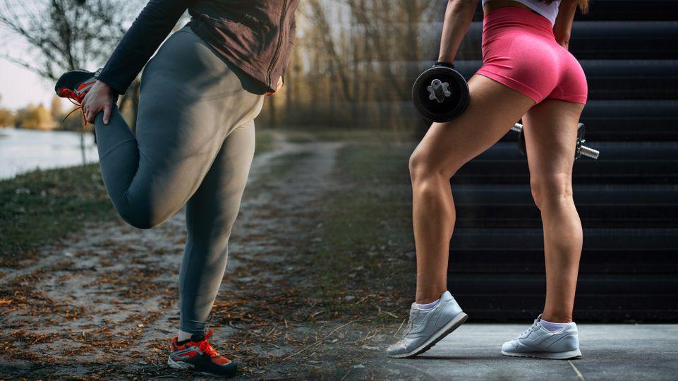Postava typu hrušky: Jak zhubnout stehna a boky?