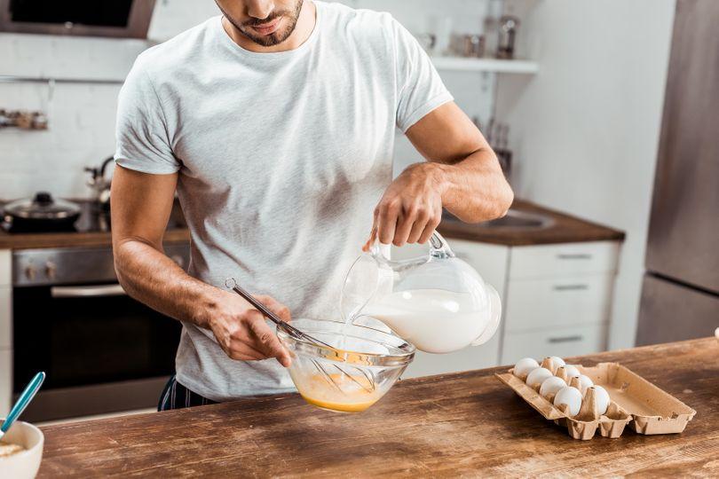 Potraviny, vitaminy a minerální látky pro zvýšení hladiny testosteronu