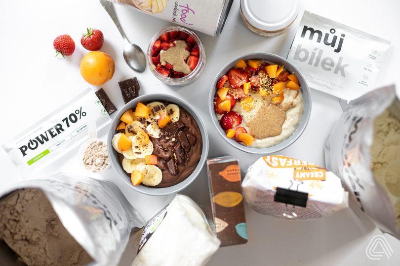 Rychlé, chutné a plné bílkovin – kaše 3x jinak