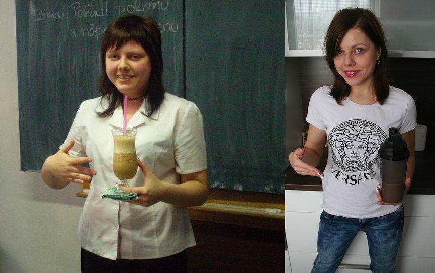Simona Cahlová - ze 100 kg na 60