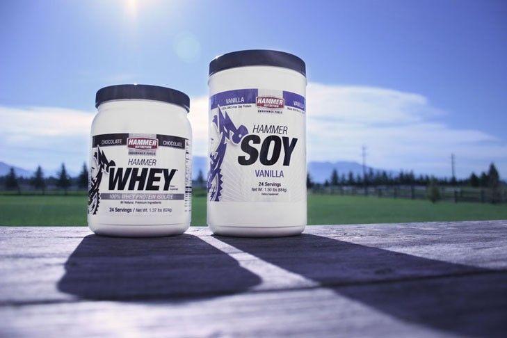 Sójová vs. syrovátková bílkovina