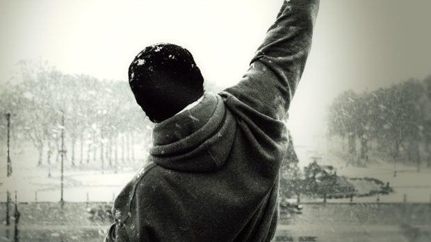 Stallone alias ROCKY - trénink paží