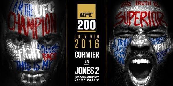 """UFC 200: """"obří boj na život a na smrt"""""""