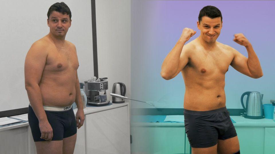 Velké finále Vaškovy proměny! Kolik kilo zhubl za 3 měsíce?