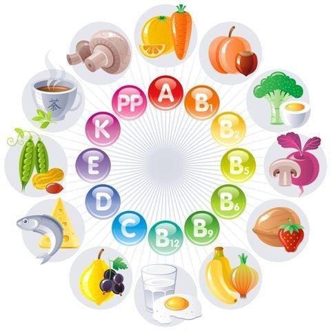 Vitamíny od A po Z (1.část)