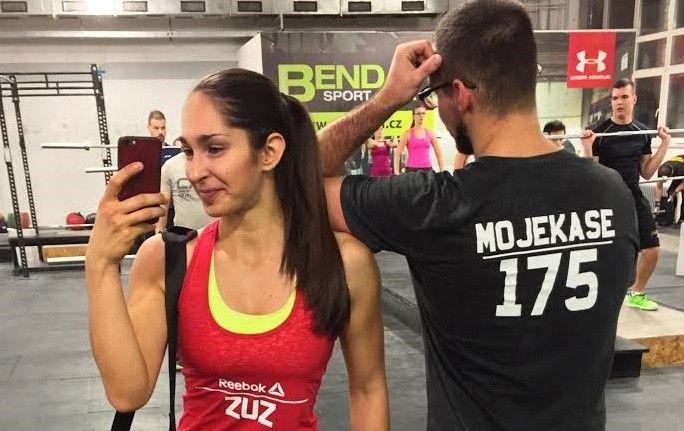 """Zuzana Špačková: """"Silový trojboj, CrossFit, strongman a bodyfitness"""""""
