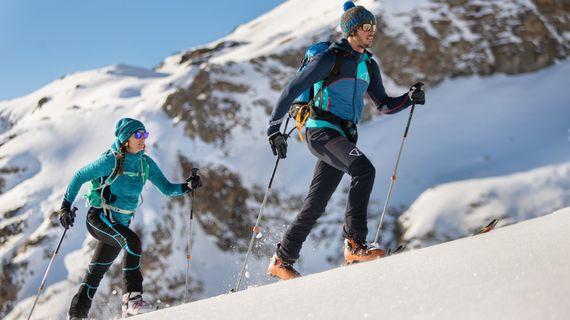 Běžky, skialp, zimní turistika. Nepodceňuj při nich správnou výživu.