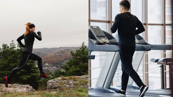 Čím se liší běh na pásu od běhání venku?