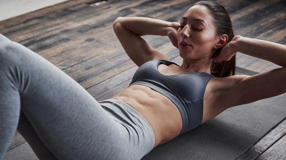 Domácí trénink pro pevné a ploché břicho