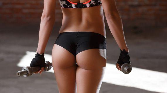 Domácí trénink pro zadek k nakousnutí