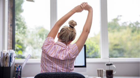 Jak nejlépe kompenzovat dlouhé sezení za počítačem