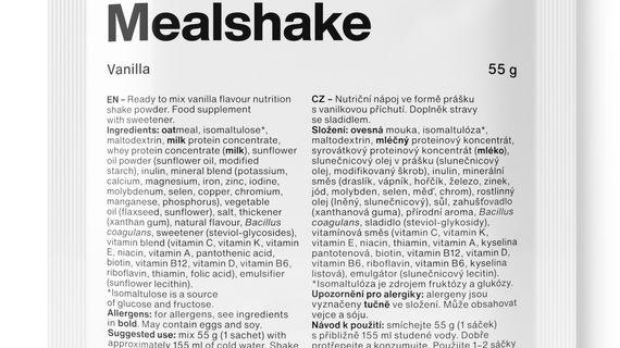 Nový nutriční nápoj Vilgain Mealshake nahradí kvalitní svačinu, když není čas