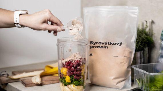 Syrovátkový protein je superhodnotný zdroj bílkovin nejvyšší kvality