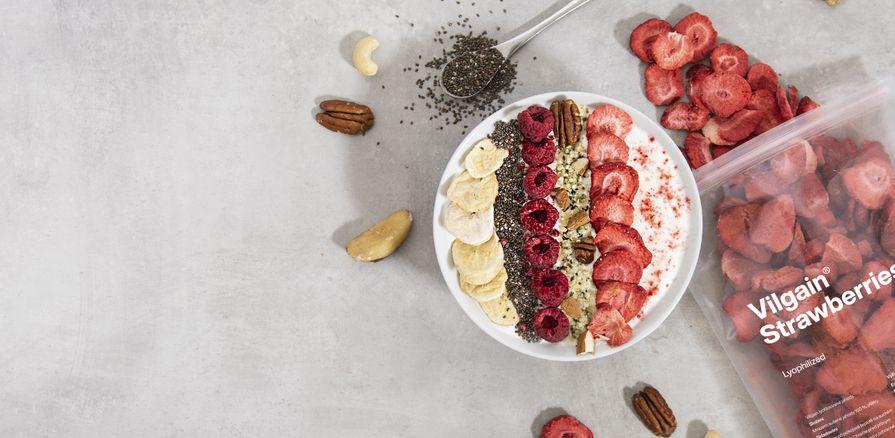 Voňavé lyo ovoce plné chuti a vitaminů