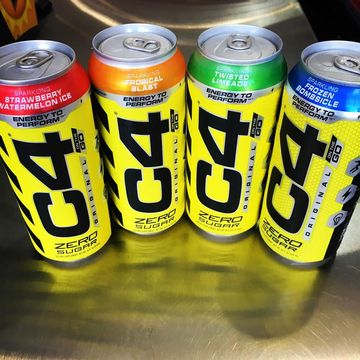 Energy drink naboostovaný energií, kterou znáte z klasických C4 preworkoutů.