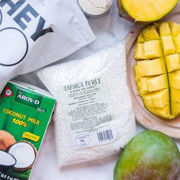 Krémový pudink z tapiokových perel a kokosového mléka připravíte během chvilky.