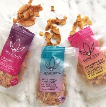 Nové příchutě kokosových chipsů v BIO kvalitě slazené javorovým sirupem. Stávající si vychutnáte s akcí 3 + 1 zdarma.