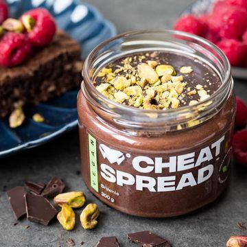 Prvý vegánsky Cheat Spread s lahodnou čokoládovou chuťou a prírodnými ingredienciami.
