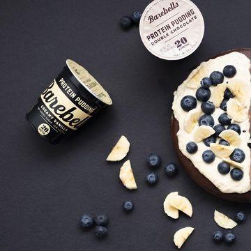 Vanilkový nebo čokoládový Barebell protein pudding za akčních 34 Kč!