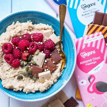 Veganské čokolády Veganz vynikají kvalitními ingrediencemi ve složení.