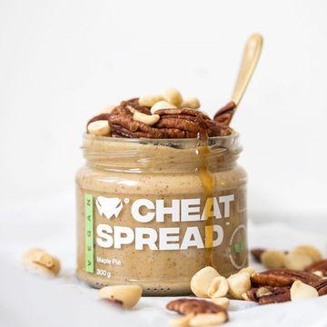 Zbrusu nový vegánsky Cheat Spread - famózny MAPLE PIE