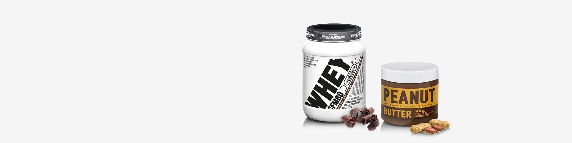 Whey Protein 2 kg  + Peanut Butter zdarma