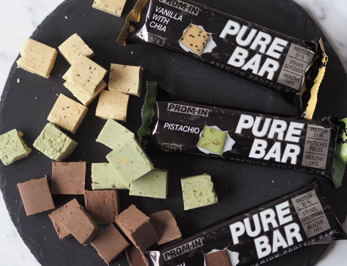 Otestujte s námi tyčinky Pure Bar od Prom-IN