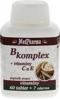 MedPharma B-komplex + vitamín C + vitamín E