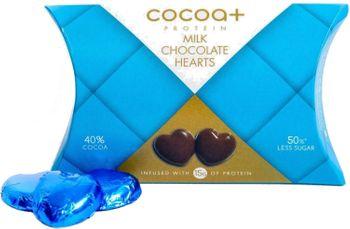 Cocoa+ Protein Milk Chocolate Hearts
