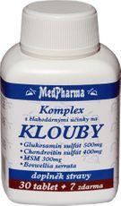 MedPharma Glukosamin + chondroitin + MSM