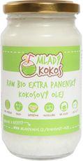 Mladý Kokos Raw Bio extra panenský kokosový olej